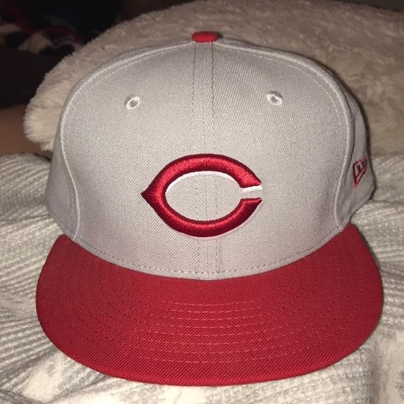 8fec80d5a New Era 59/50 Cincinnati Reds hat